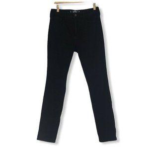 Hollister Super Skinny Jeans Black Classic 7 S